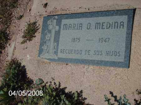 MEDINA, MARIA O. - Gila County, Arizona | MARIA O. MEDINA - Arizona Gravestone Photos