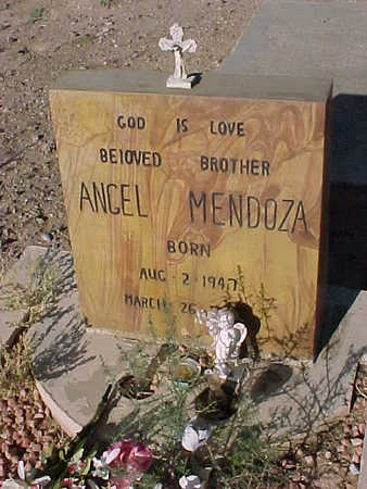 MENDOZA, ANGEL - Gila County, Arizona | ANGEL MENDOZA - Arizona Gravestone Photos