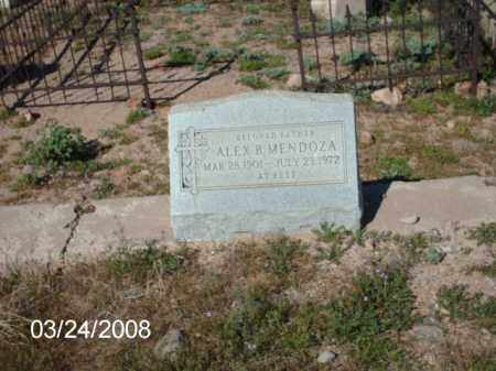 MENDOZA, ALEX - Gila County, Arizona | ALEX MENDOZA - Arizona Gravestone Photos