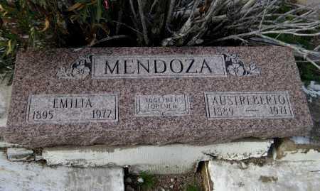 MENDOZA, AUSTREBERTO - Gila County, Arizona   AUSTREBERTO MENDOZA - Arizona Gravestone Photos