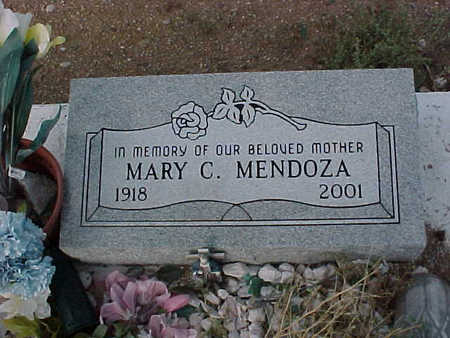 MENDOZA, MARY  C. - Gila County, Arizona | MARY  C. MENDOZA - Arizona Gravestone Photos