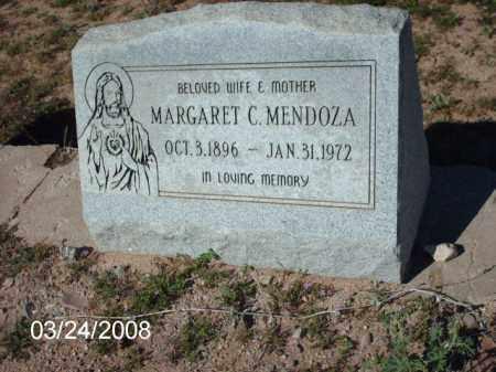 MENDOZA, MARGARET - Gila County, Arizona | MARGARET MENDOZA - Arizona Gravestone Photos