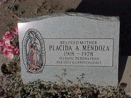 MENDOZA, PLACIDA A. - Gila County, Arizona | PLACIDA A. MENDOZA - Arizona Gravestone Photos