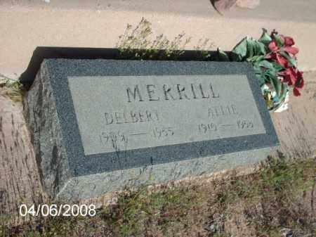 MERRILL, DELBERT - Gila County, Arizona | DELBERT MERRILL - Arizona Gravestone Photos