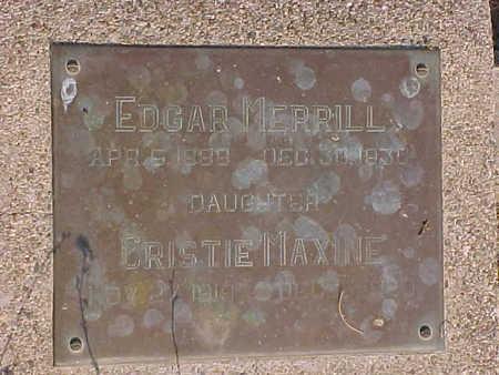 MERRILL, CRISTIE  MAXINE - Gila County, Arizona | CRISTIE  MAXINE MERRILL - Arizona Gravestone Photos