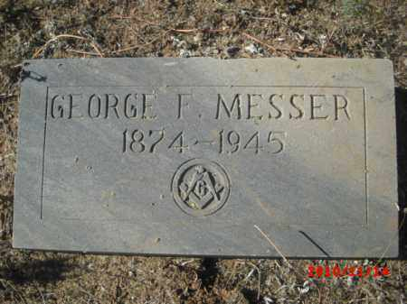 MESSER, GEORGE F. - Gila County, Arizona | GEORGE F. MESSER - Arizona Gravestone Photos