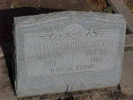 MEYER, FRED ADOLPHUS - Gila County, Arizona | FRED ADOLPHUS MEYER - Arizona Gravestone Photos