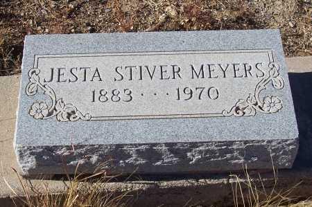 MEYERS, JESTA STIVER - Gila County, Arizona   JESTA STIVER MEYERS - Arizona Gravestone Photos