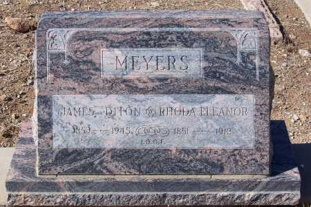 MEYERS, RHODA ELEANOR - Gila County, Arizona | RHODA ELEANOR MEYERS - Arizona Gravestone Photos