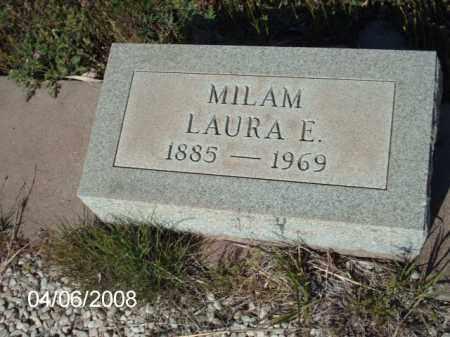 MILAM, LAURA E. - Gila County, Arizona | LAURA E. MILAM - Arizona Gravestone Photos