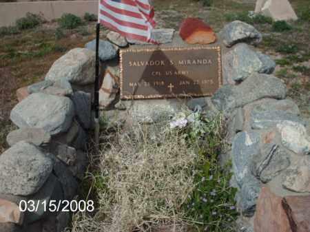MIRANDA, SALVADOR - Gila County, Arizona | SALVADOR MIRANDA - Arizona Gravestone Photos