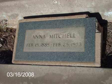 MITCHELL, ANNA - Gila County, Arizona | ANNA MITCHELL - Arizona Gravestone Photos