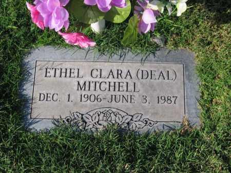 DEAL MITCHELL, ETHEL CLARA - Gila County, Arizona | ETHEL CLARA DEAL MITCHELL - Arizona Gravestone Photos