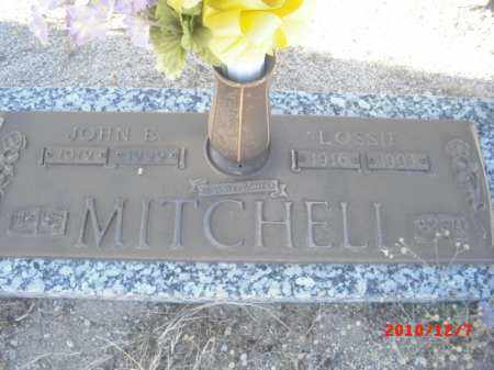 MITCHELL, JOHN E. - Gila County, Arizona | JOHN E. MITCHELL - Arizona Gravestone Photos