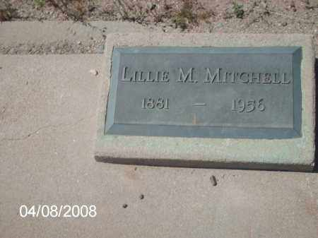 MITCHELL, LILLIE M. - Gila County, Arizona | LILLIE M. MITCHELL - Arizona Gravestone Photos