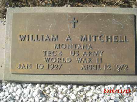 MITCHELL, WILLIAM A. - Gila County, Arizona   WILLIAM A. MITCHELL - Arizona Gravestone Photos