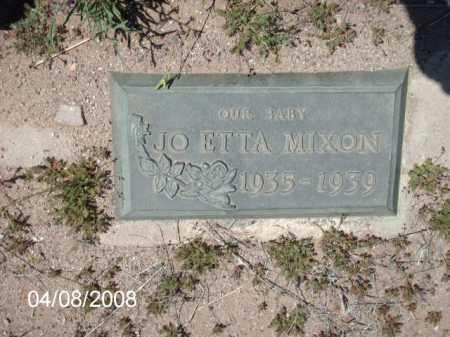 MIXON, JO ETTA - Gila County, Arizona   JO ETTA MIXON - Arizona Gravestone Photos