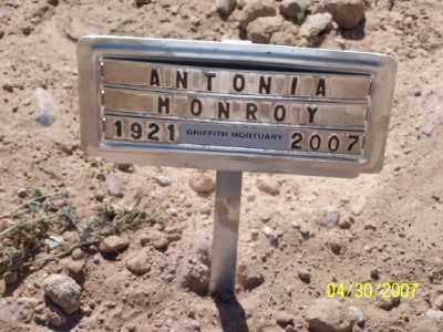 LAGUNAS MONROY, ANTONIA - Gila County, Arizona | ANTONIA LAGUNAS MONROY - Arizona Gravestone Photos