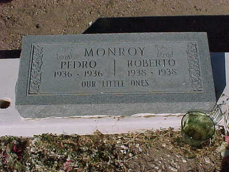 MONROY, PEDRO - Gila County, Arizona | PEDRO MONROY - Arizona Gravestone Photos