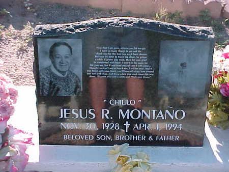 MONTANO, JESUS R. (CHILILO) - Gila County, Arizona | JESUS R. (CHILILO) MONTANO - Arizona Gravestone Photos
