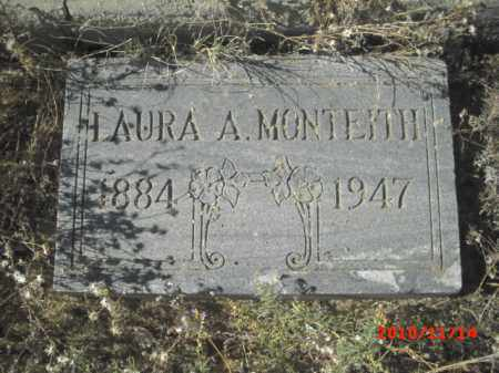 MONTEITH, LAURA A. - Gila County, Arizona | LAURA A. MONTEITH - Arizona Gravestone Photos