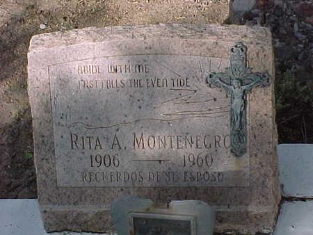MONTENEGRO, RITA  A. - Gila County, Arizona | RITA  A. MONTENEGRO - Arizona Gravestone Photos