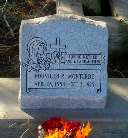 RIVERA MONTERDE, EDUVIGEN - Gila County, Arizona   EDUVIGEN RIVERA MONTERDE - Arizona Gravestone Photos