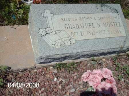 MONTEZ, GUADALUPE N. - Gila County, Arizona | GUADALUPE N. MONTEZ - Arizona Gravestone Photos