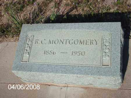 MONTGOMERY, R. C. - Gila County, Arizona | R. C. MONTGOMERY - Arizona Gravestone Photos