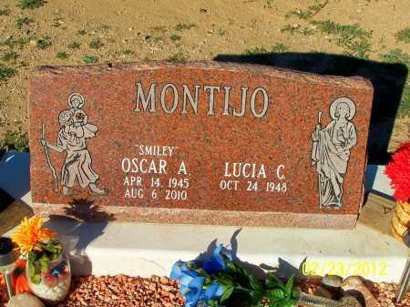 MONTIJO, LUCIA C. - Gila County, Arizona | LUCIA C. MONTIJO - Arizona Gravestone Photos