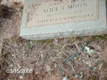 MOON, ALICE - Gila County, Arizona | ALICE MOON - Arizona Gravestone Photos