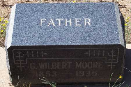 MOORE, G. WILBERT - Gila County, Arizona | G. WILBERT MOORE - Arizona Gravestone Photos