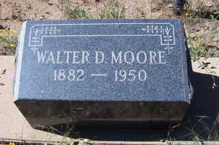 MOORE, WALTER D. - Gila County, Arizona | WALTER D. MOORE - Arizona Gravestone Photos