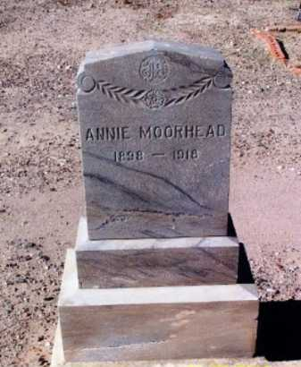 MOORHEAD, ANNIE - Gila County, Arizona | ANNIE MOORHEAD - Arizona Gravestone Photos