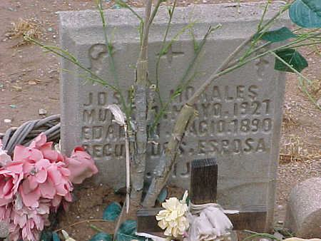 MORALES, JOSE - Gila County, Arizona   JOSE MORALES - Arizona Gravestone Photos