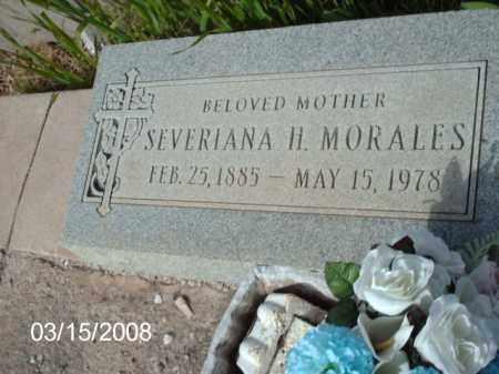 MORALES, SEVERIANA - Gila County, Arizona | SEVERIANA MORALES - Arizona Gravestone Photos