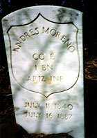 MORENO, ANDRES - Gila County, Arizona | ANDRES MORENO - Arizona Gravestone Photos