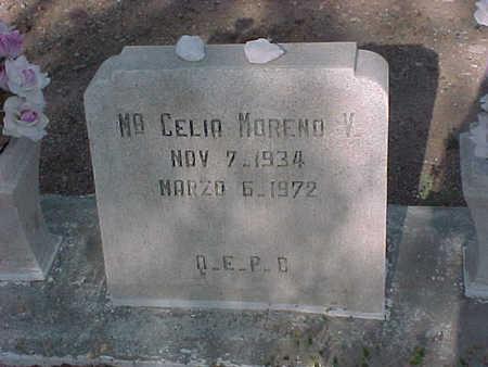 MORENO, CELIA - Gila County, Arizona | CELIA MORENO - Arizona Gravestone Photos