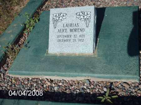 MORENO, LAURIAS - Gila County, Arizona   LAURIAS MORENO - Arizona Gravestone Photos