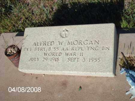 MORGAN, ALFRED - Gila County, Arizona | ALFRED MORGAN - Arizona Gravestone Photos