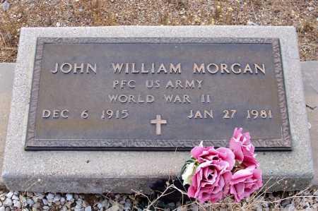MORGAN, JOHN WILLIAM - Gila County, Arizona | JOHN WILLIAM MORGAN - Arizona Gravestone Photos