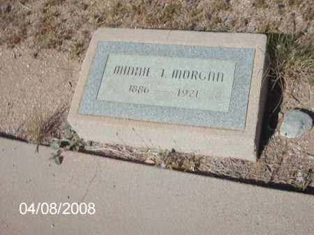 MORGAN, MINNIE T. - Gila County, Arizona | MINNIE T. MORGAN - Arizona Gravestone Photos
