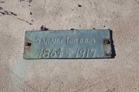 MORGAN, SARAH - Gila County, Arizona   SARAH MORGAN - Arizona Gravestone Photos