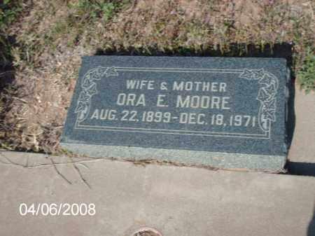 MORRE, ORA E. - Gila County, Arizona | ORA E. MORRE - Arizona Gravestone Photos