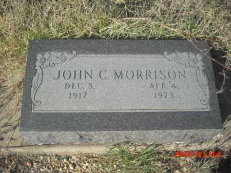 MORRISON, JOHN C. - Gila County, Arizona   JOHN C. MORRISON - Arizona Gravestone Photos
