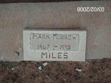 MORROW, MARK - Gila County, Arizona   MARK MORROW - Arizona Gravestone Photos