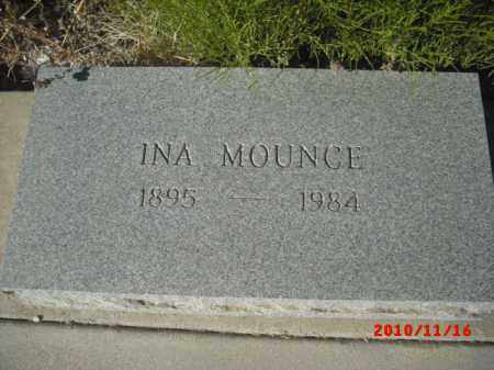 MOUNCE, INA - Gila County, Arizona | INA MOUNCE - Arizona Gravestone Photos