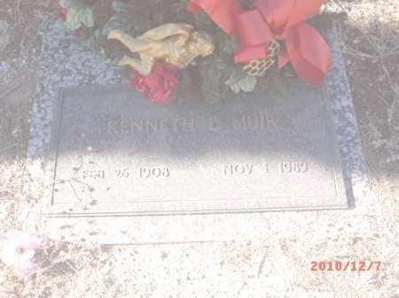 MUIR, KENNETH D. - Gila County, Arizona   KENNETH D. MUIR - Arizona Gravestone Photos