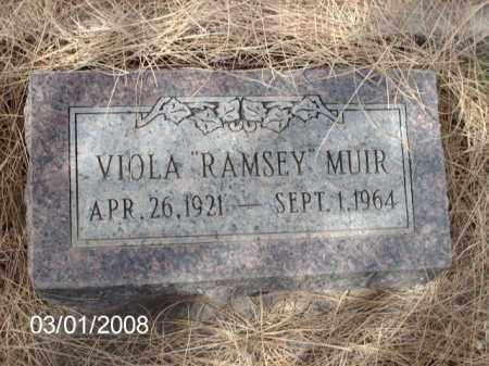 MUIR, VIOLA - Gila County, Arizona | VIOLA MUIR - Arizona Gravestone Photos
