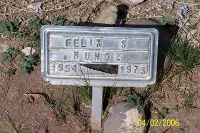 MUNOZ, FLEX S. - Gila County, Arizona   FLEX S. MUNOZ - Arizona Gravestone Photos